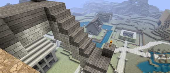 Dept of Field, Schärfentiefe in Minecraft